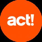 act! Logo orange weiß